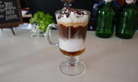 haru coffee チョコバナナカフェラテ